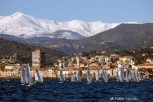 Vintage sails in Imperia