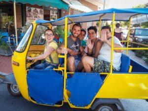 ape car per villa lazzarini holiday houses